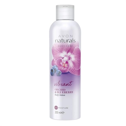 Balsam do ciała Jagoda i Orchidea (200 ml) - Avon Naturals