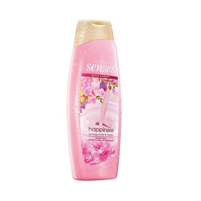 Kremowy żel pod prysznic HAPPINESS (500ml) - Avon Senses