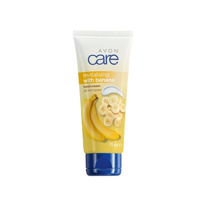 Krem do rąk z ekstraktem z bananów (75 ml) - Avon Care